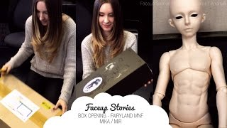 Faceup Stories [SPECIAL]: Box Opening Fairyland MNF Mika/Mir