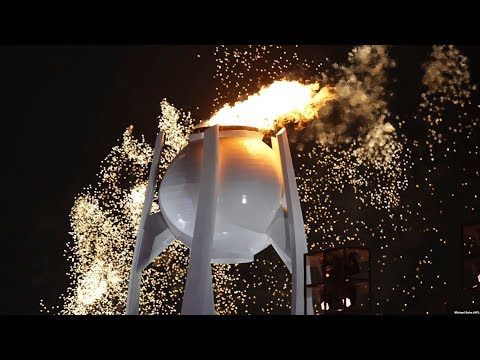 В Южной Корее открылись зимние Олимпийские игры /  Новости