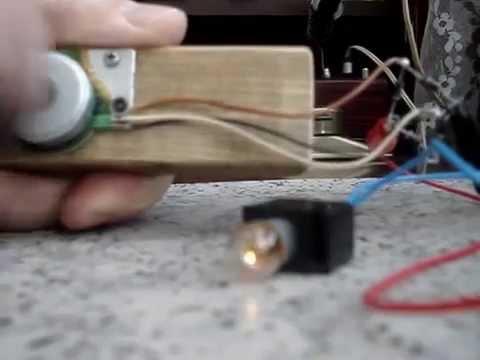 Как сделать из моторчика генератор