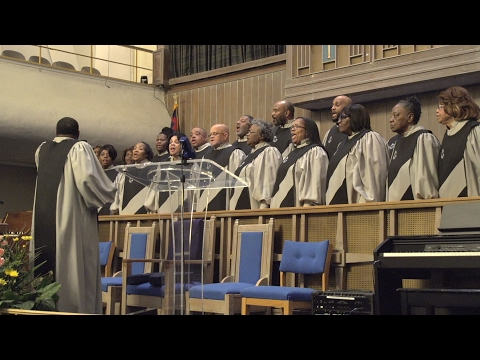 The Greater Abyssinia Baptist Church Choir performs 'Victory Shall Be Mine'