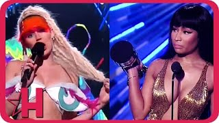 Nicki Minaj DISSES Miley Cyrus at 2015 MTV VMA | Hollyscoop News