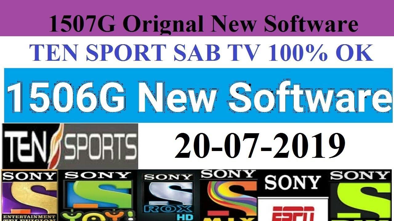 1506g new software 2019 | 1507g new software 2019 | 1506g | 1506g sim  receiver software 2019