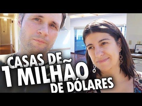 CASAS DE MAIS DE 1 MILHÃO DE DÓLARES NO CANADÁ - OPEN HOUSE CANADÁ DIÁRIO #1
