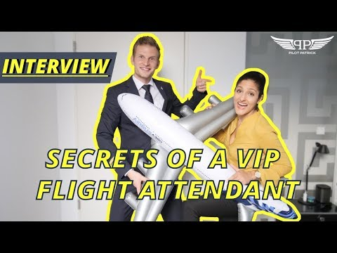 SECRETS OF A VIP FLIGHT ATTENDANT | PILOTPATRICK INTERVIEWS
