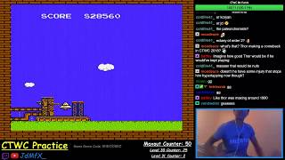 NES TETRIS - My First Back to Back Maxouts - 10/1/2018