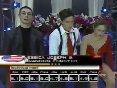 2001 Four Continents Figure Skating Championships-Free Dance & Ladies Free Skate