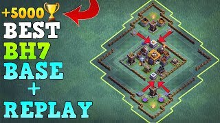 Best Builder Hall 7 Base w/Replay   CoC Best BH7 Base NEW UPDATED GAINT CANNON   Clash of Clans