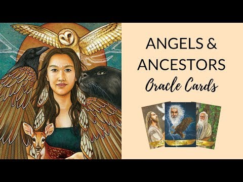 Angels And Ancestors Oracle Cards Unboxing + Review | Kyle Gray (Hay House)