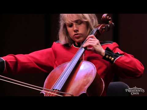 """DVORAK """"Silent Woods"""" From Op. 68 - """"The President's Own"""" Marine Chamber Orchestra"""