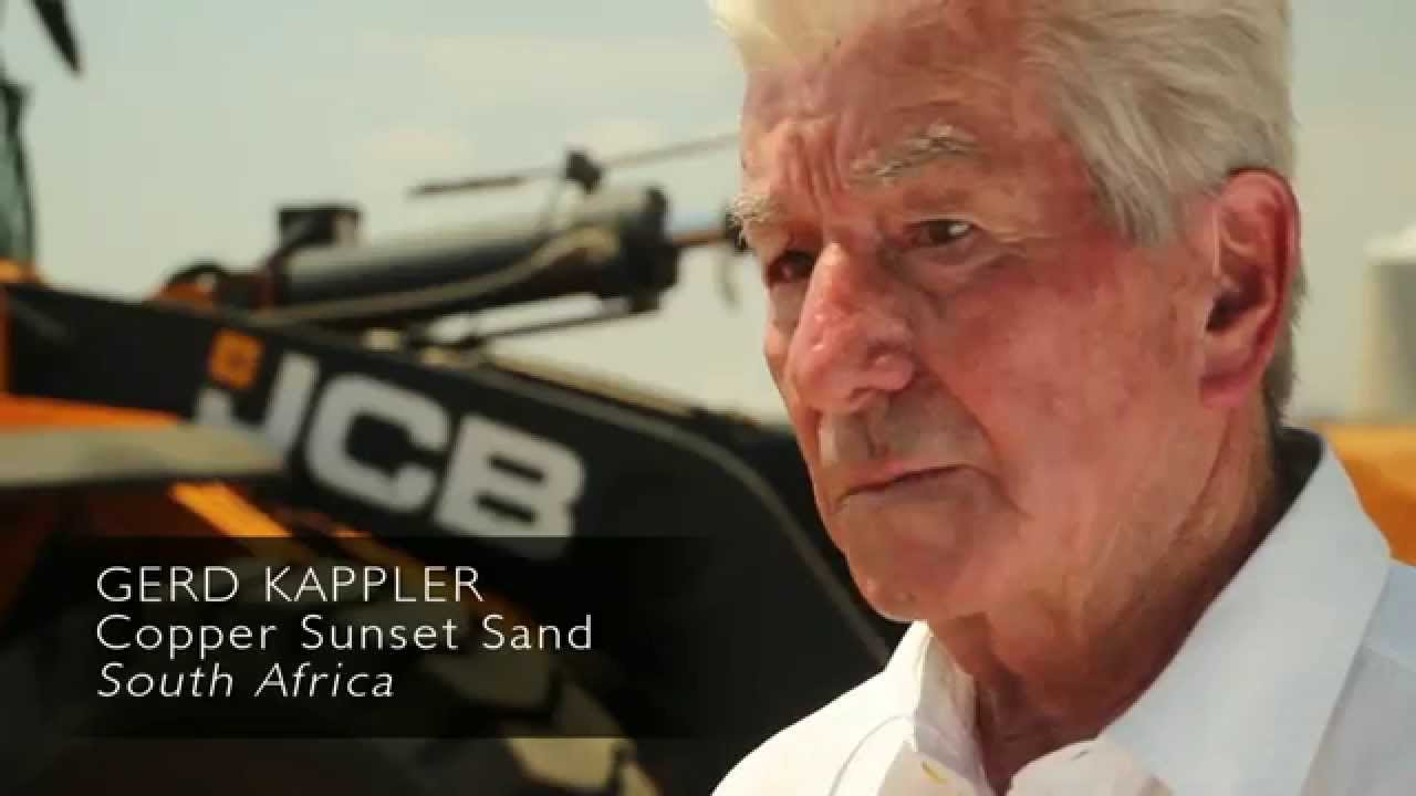 JCB WLS Testimonial - Gerd Kappler - Copper Sunset - South Africa