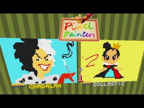 Minecraft / Disney Villains Pixel Painters / Dollastic Plays / Hypixel