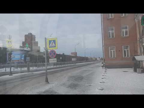 Санкт-Петербург | на автобусе у Обводного канала