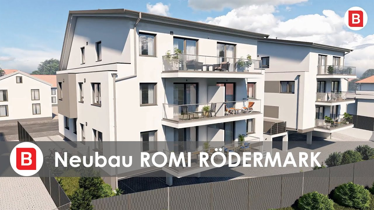 ROMI Rödermark - 8 Neubau-Eigentumswohnungen - provisionsfrei