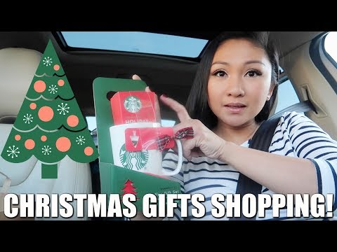 CHRISTMAS GIFTS SHOPPING! 🎁