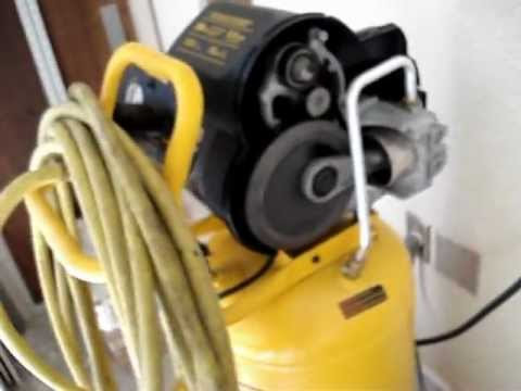 Dewalt Air Compressor Repair Of Check Valve Video 1 Of 3