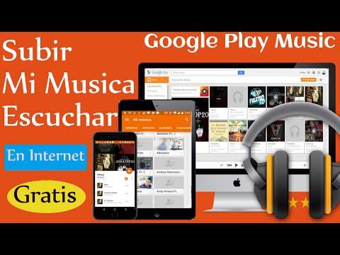 Como Usar Google Play Music para guardar mi Música online