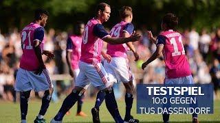 10:0-Testspielsieg gegen die TuS Dassendorf | Testpiel-Highlights 2018