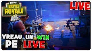 Cum ar fii un WIN pe live? | Fortnite [LIVE#64]