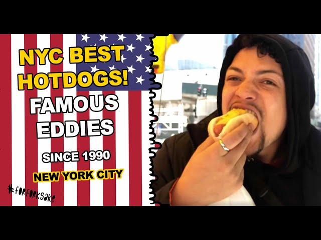 NEW YORK'S BEST HOT DOG - NEW YORK CITY FORK FOOD GUIDE - For Fork Sake - A Food Network