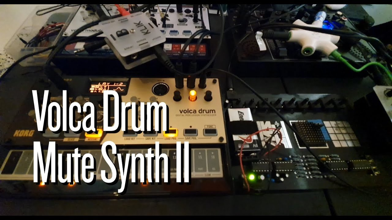Volca Drum and Mute Synth II
