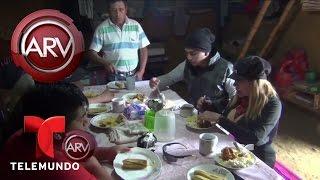 La Tigresa del Oriente conoce a sus suegros | Al Rojo Vivo | Telemundo