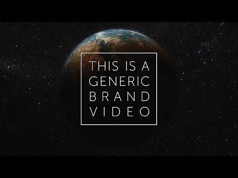 This Is a Generic Brand Video, by Dissolve from YouTube · Duration:  2 minutes 50 seconds