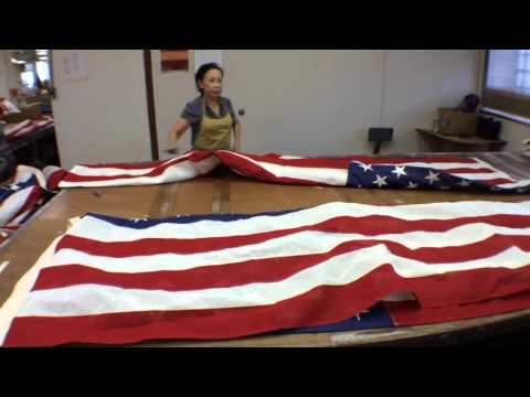 Refugees Produce U.S. Flags At KC Company