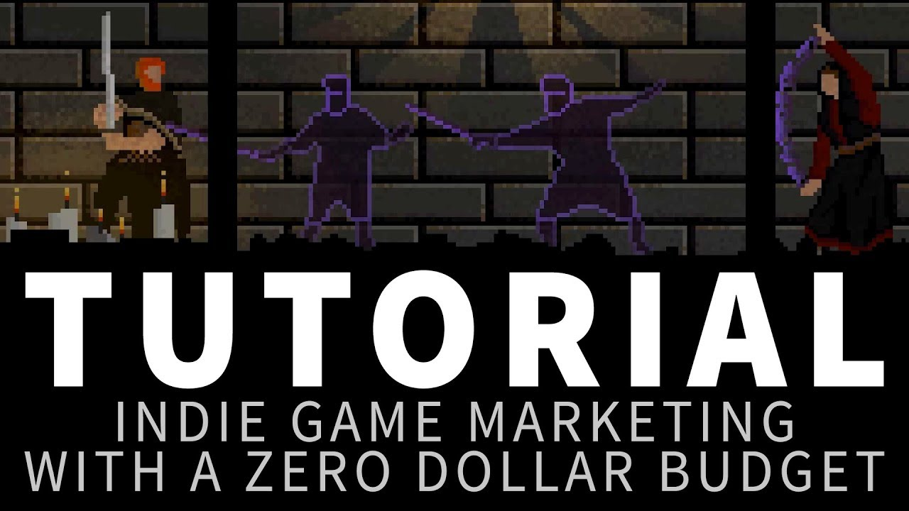 Indie game marketing on a zero dollar budget - Tutorial