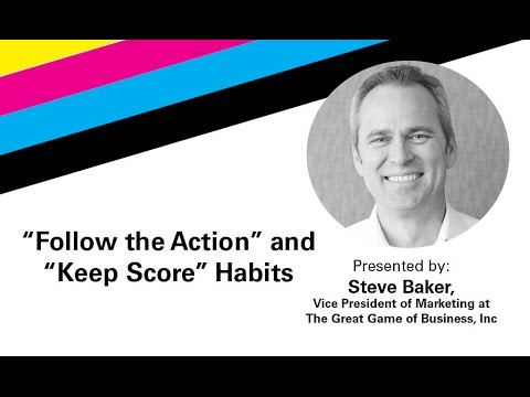 The Great Game of Business - How To Keep Score And Follow The Action