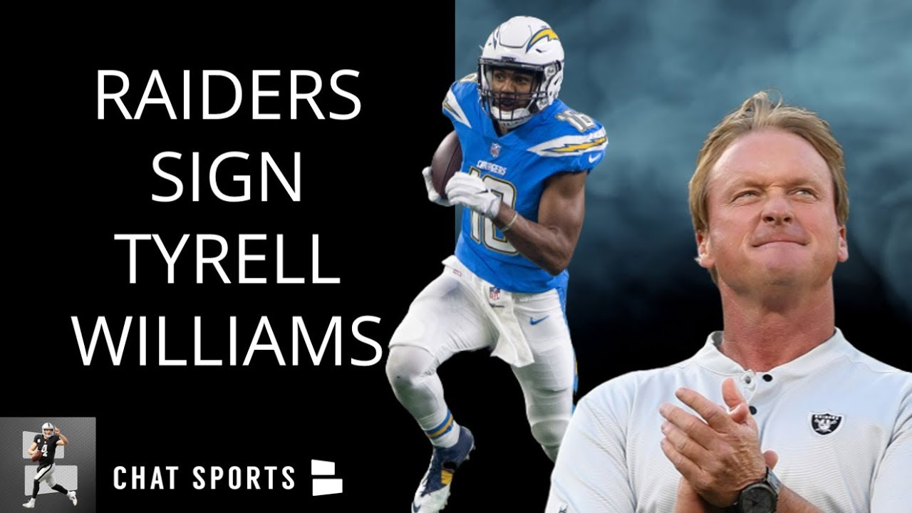Oakland Raiders sign ex-Chargers WR Tyrell Williams