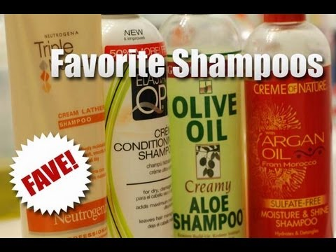 Favorite Shampoos For My Natural Hair