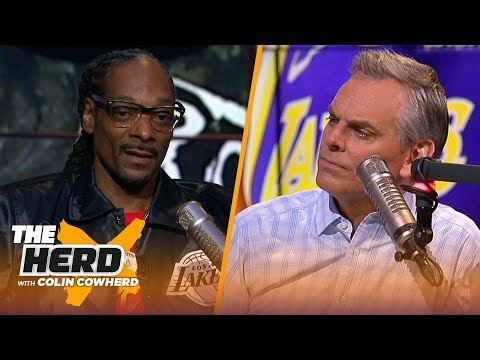 Snoop Dogg discusses his relationship with JuJu Smith-Schuster, shares thoughts on Lakers | THE HERD