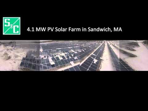 S&C Construction of 4.1MW Solar Farm in Sandwich, Massachusetts