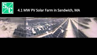 S&C Construction of 4.1MW Solar Farm in Sandwich, Massachusetts