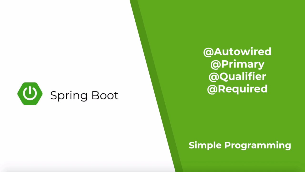 Repeat Spring Boot - @Autowired, @Qualifier, @Primary