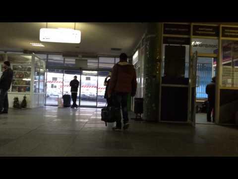 Автовокзал Киева. совдеповский вид и бесплатный Wi-fi