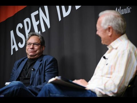 Comedian Lewis Black & Bob Schieffer at The Aspen Ideas Festival 2009