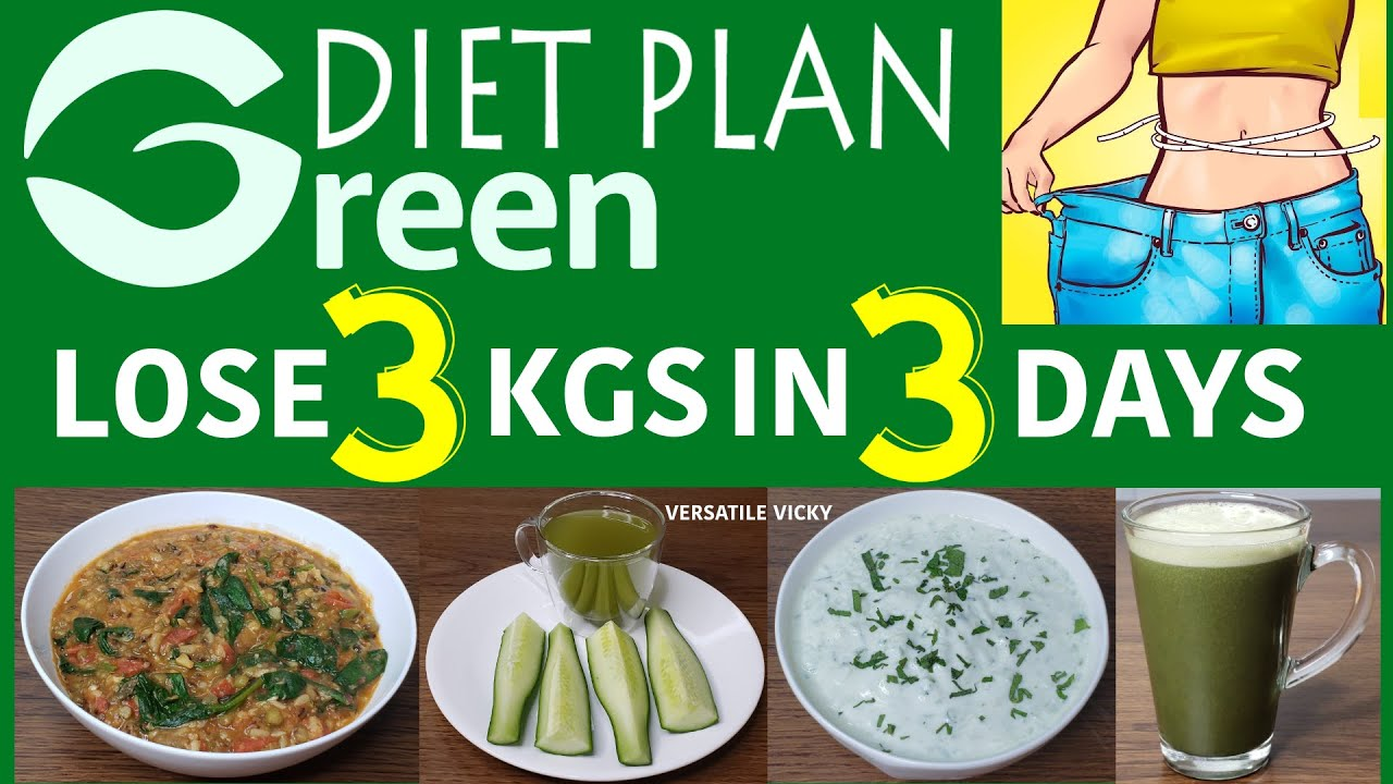 diet plan to lose 1kg per week