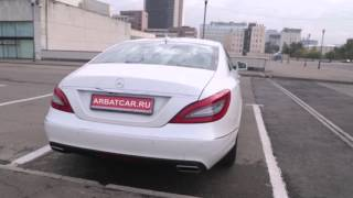 Прокат Авто на свадьбу Mercedes / мерседес CLS белый