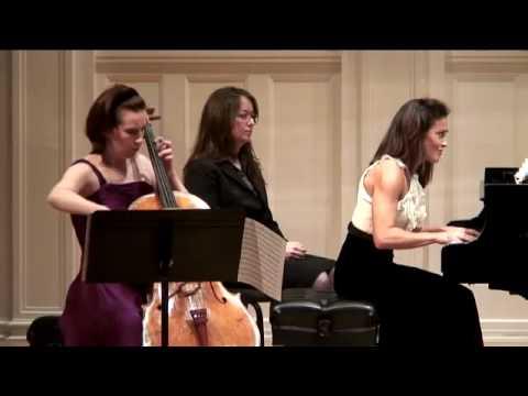 Sonata for Cello and Piano No.1 in E minor, Op.38 Allegretto quasi minuetto- Johannes Brahms