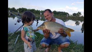Полювання за коропом в Киргизстані ''Рибалка без слів. ''