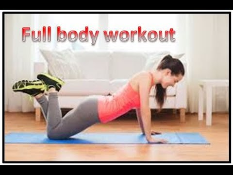 easy beginners workout  at home full body 112 minute