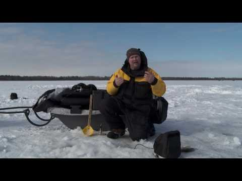 ICE HELIX - Combining 2D SONAR with Real-Time SONAR for Ice Fishing