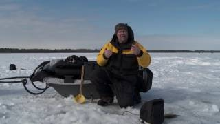 ice helix combining 2d sonar with real time sonar for ice fishing
