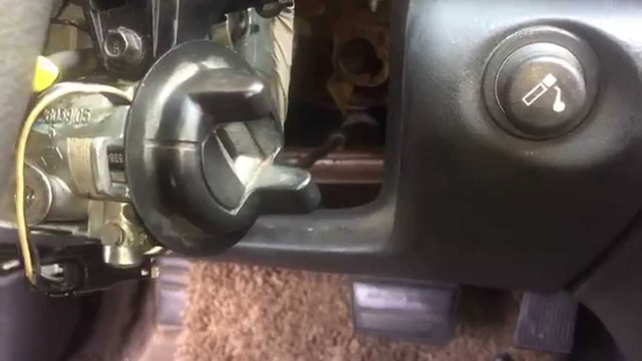 2002 chevy cavalier  pontiac sunfire remove ignition lock cylinder  YouTube