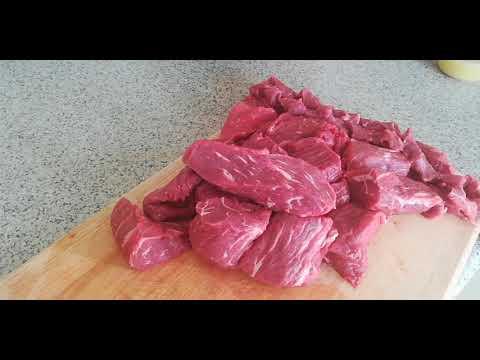 የቁዋንጣ አሰራር – How to make Ethiopian Dried Beef/Quanta/Kuwanta – Ethiopian Food