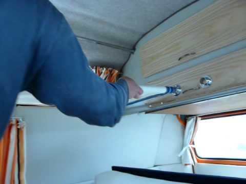 Vw Camper Bunk Beds Youtube