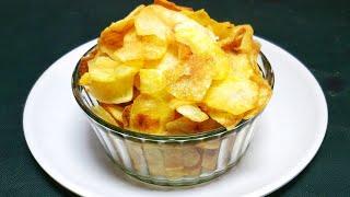 കറുമുറെ കൊറിക്കാൻ ഉരുളക്കിഴങ്ങ് ഉപ്പേരി // Crispy Potato Chips //  COOK with SOPHY // Recipe #270