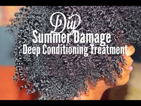 DIY | Summer Damage Deep Conditioning Treatment