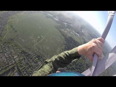 Мой первый прыжок с парашютом 18.05.2014